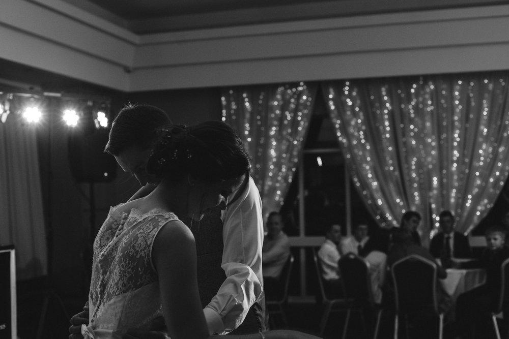 Bride and Groom first dance, Ross Park Hotel, Kells, Ballymena
