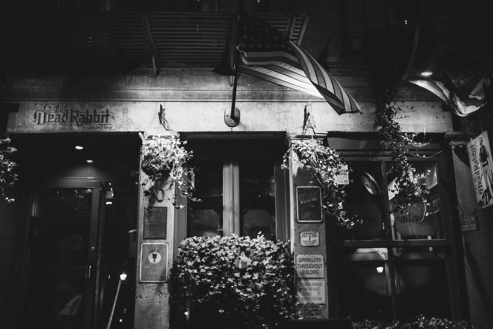 The Dead Rabbit Grocery & Grog, Lower Manhattan, NYC