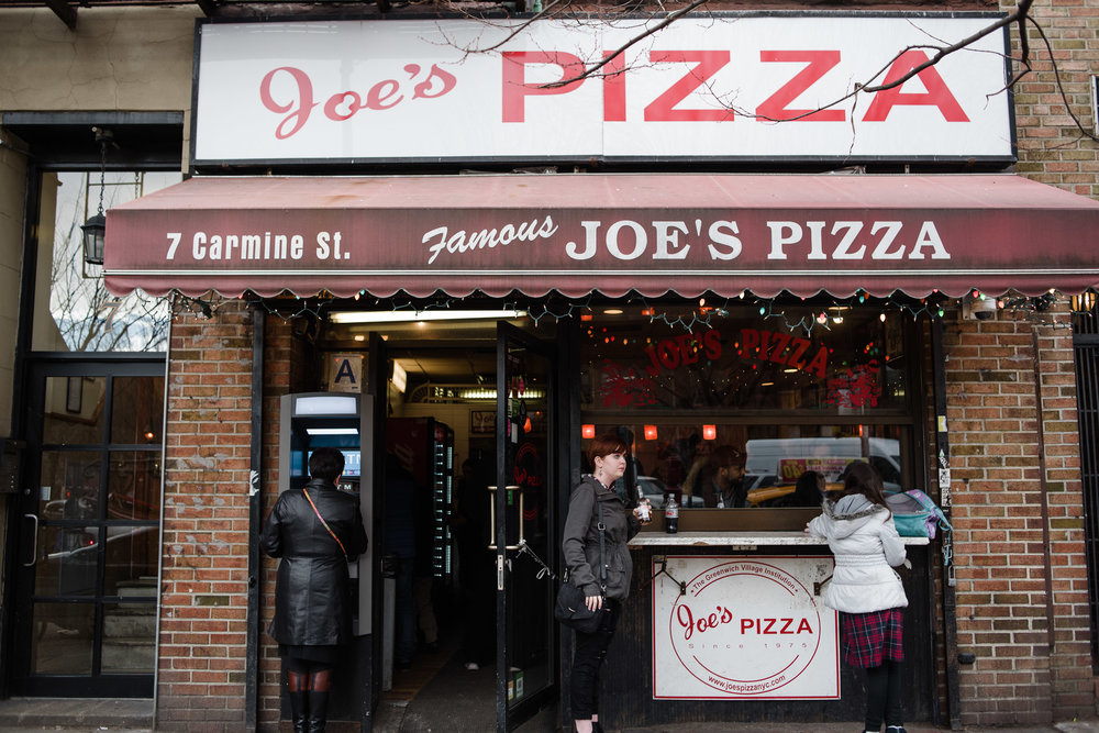 Joe's Pizza, West Village, Manhattan, NYC