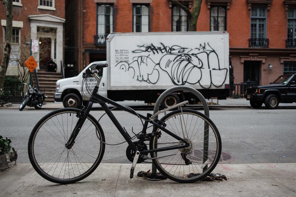 Bicycle, West Village, Manhattan, NYC