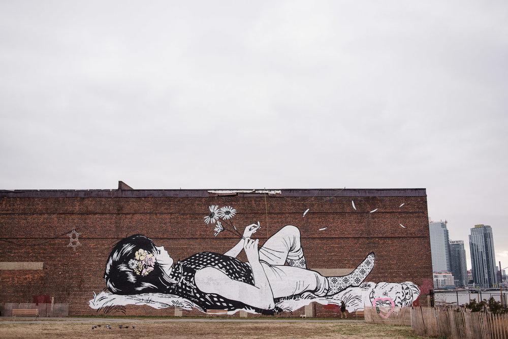 Street Art, Greenpoint, Brooklyn, NYC