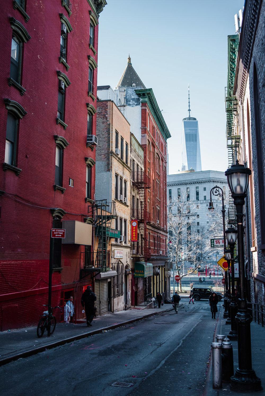 One World Trade Centre, WTC, Chinatown, Manhattan, NYC