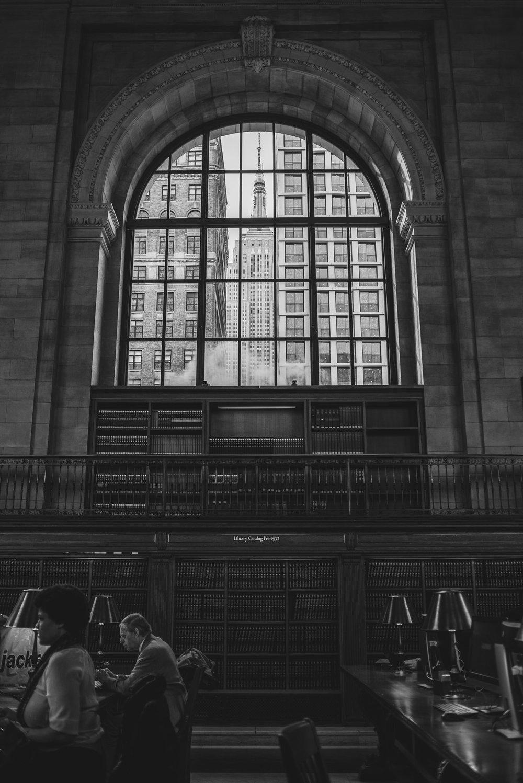 New York Public Library, Manhattan, NYC