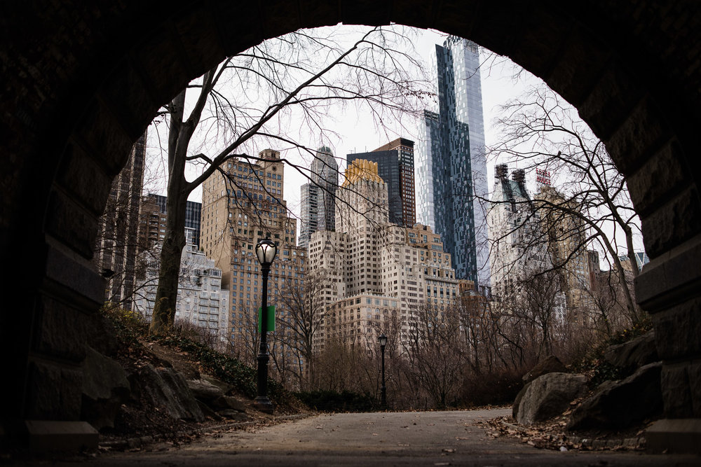 Central Park South, Tunnel, Manhattan, NYC