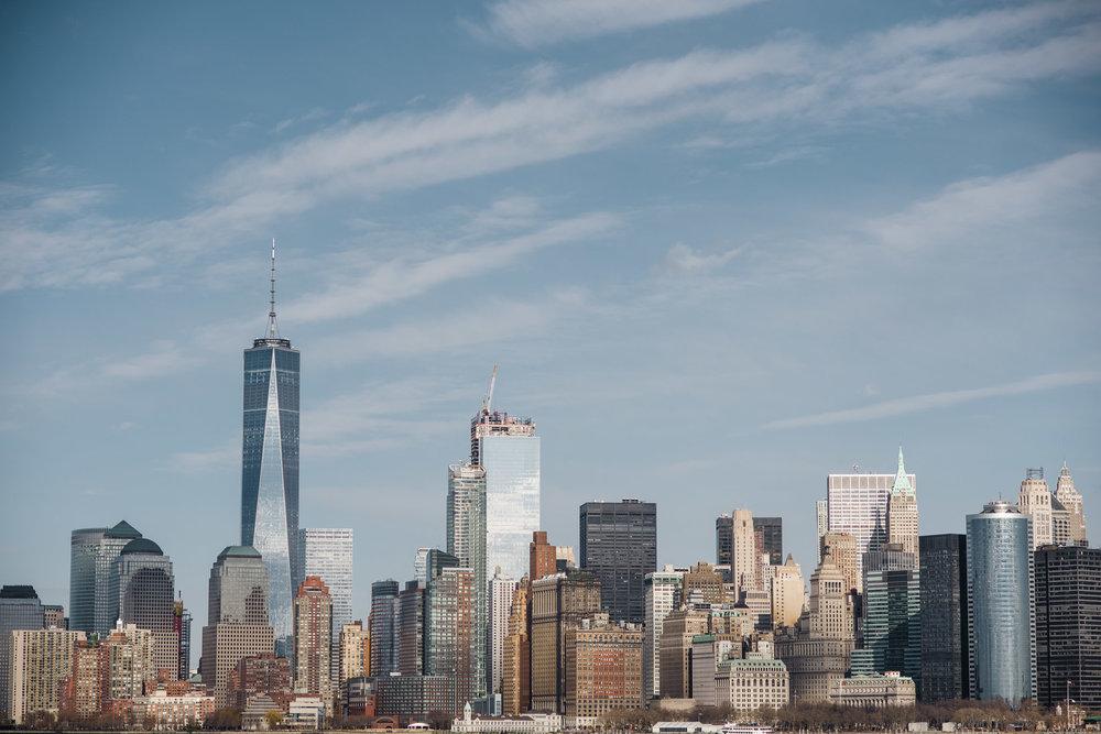 Lower Manhattan Skyline, One World Trade Centre, WTC, Manhattan, NYC