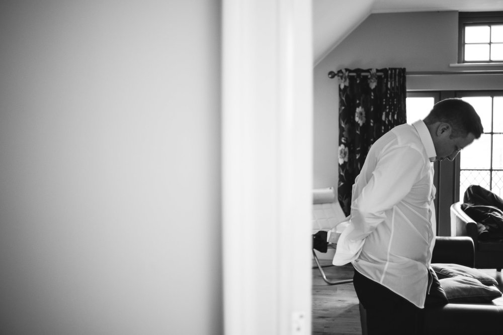 Groom gets ready, Lough Erne Resort, County Fermanagh, Northern Ireland, New Years Eve, Great Gatsby, 1920's, 1920, 1920s, themed wedding