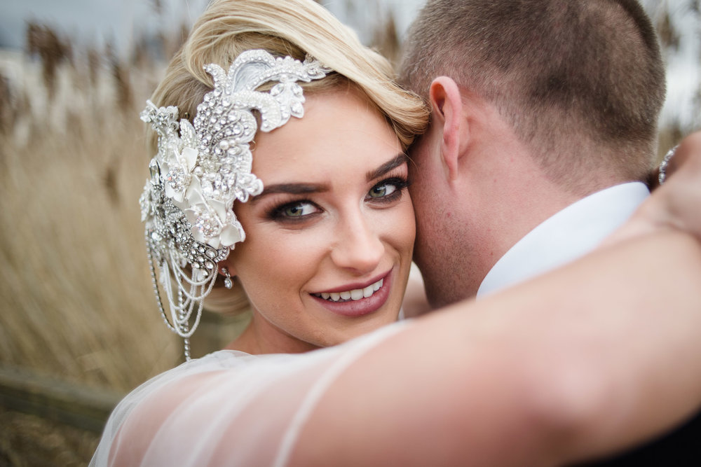 Bride and Groom,Lough Erne Resort, County Fermanagh, Northern Ireland, New Years Eve, Great Gatsby, 1920's, 1920, 1920s, themed wedding