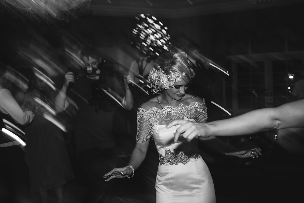 Bride dances,Lough Erne Resort, County Fermanagh,, Northern Ireland, New Years Eve, Great Gatsby, 1920's, 1920, 1920s, themed wedding