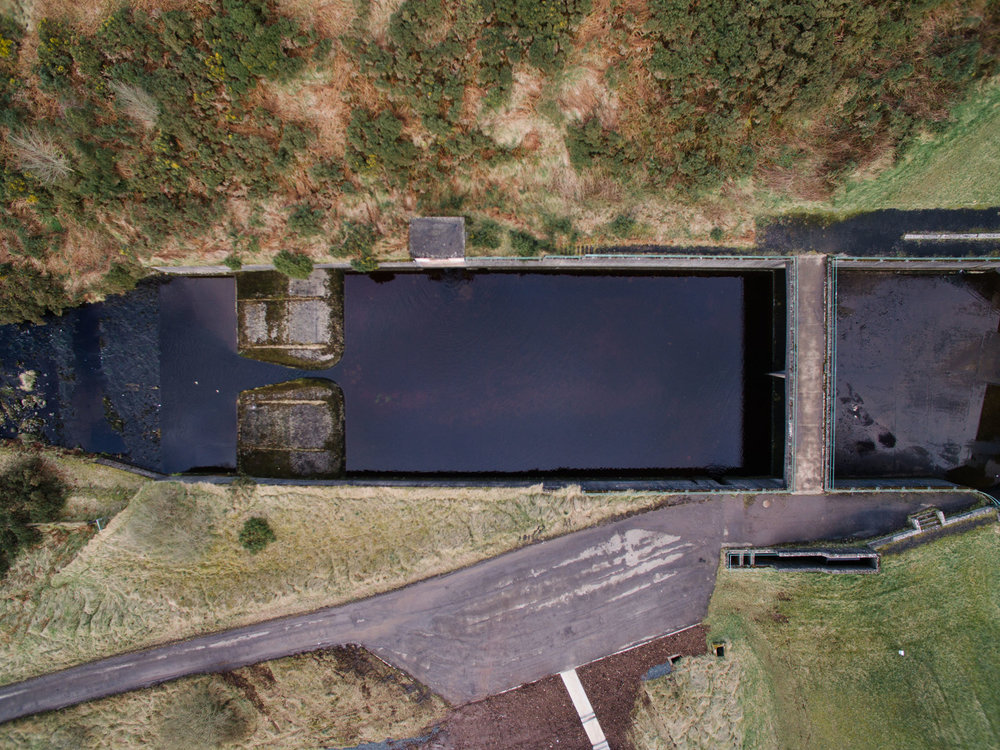 Altnahinch Dam, County Antrim, Northern Ireland, Drone Photography, DJI Phantom 3