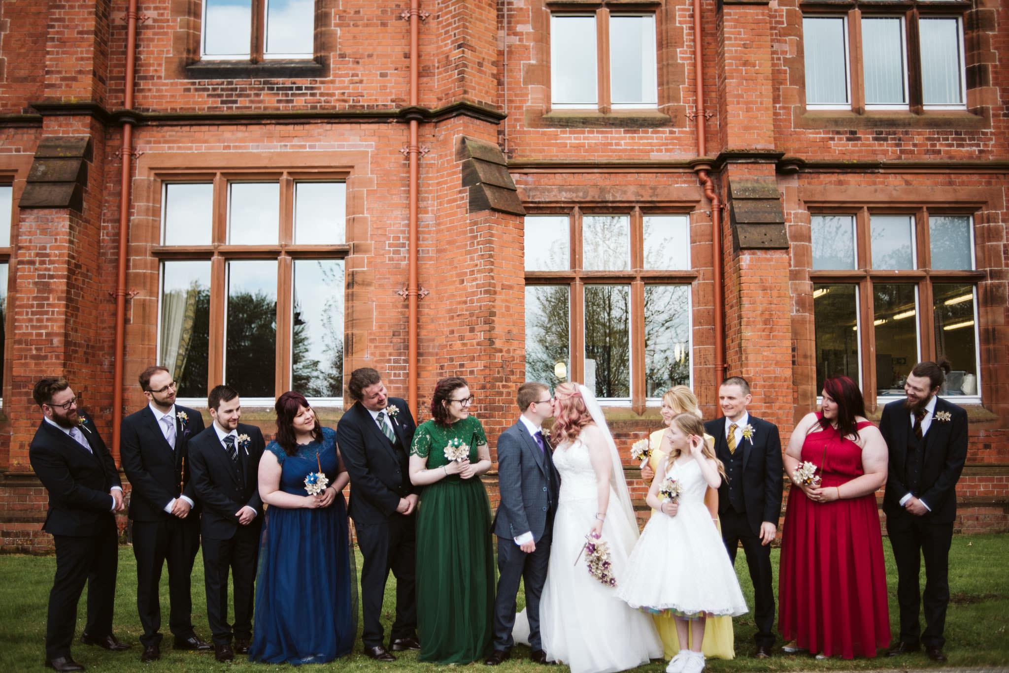 Harry Potter Themed Wedding, Riddel Hall, Great Hall, Hogwarts, Queens University Belfast, Northern Ireland