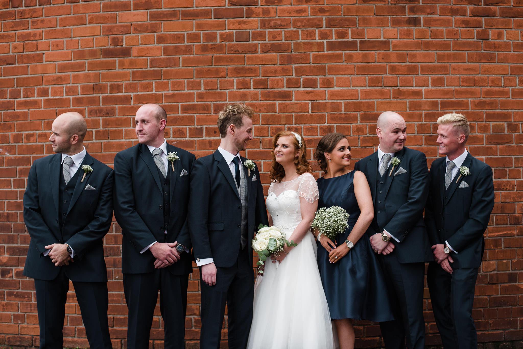 Belfast City Cathedral Quarter Wedding PHotography Northern Ireland