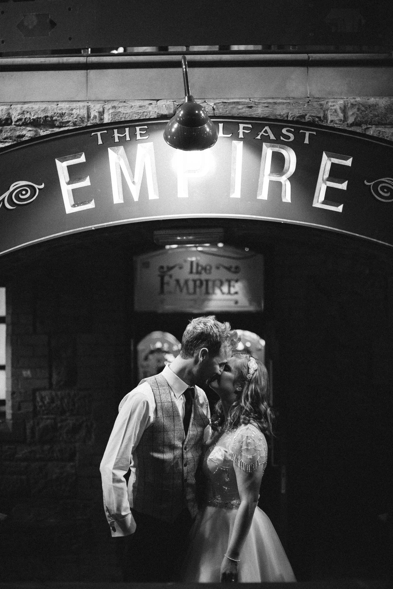 Belfast Empire Music Hall Wedding Photography Northern Ireland