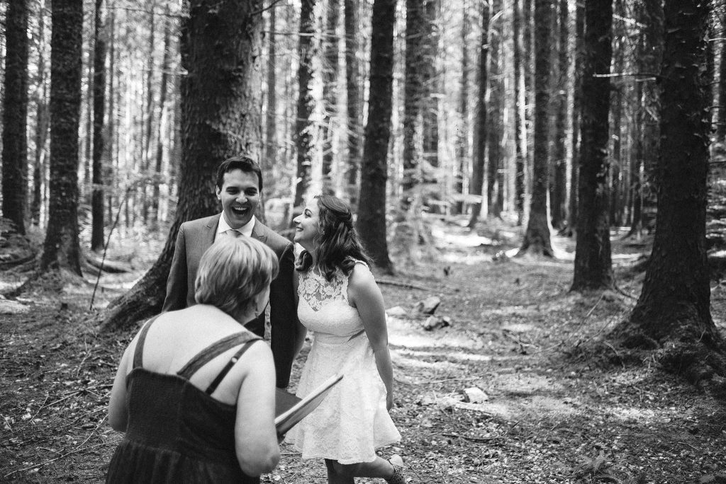Northern Ireland Elopement, Tollymore Forest Park, Mourne Mountains